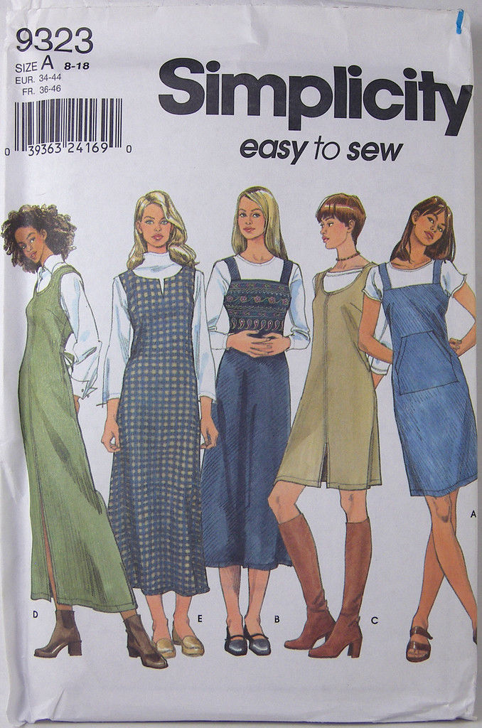 Simplicity Easy Sewing Pattern 9323 Size A And Similar Items