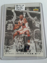 1992-93 Upper Deck Team MVPs #TM5 Michael Jordan - Chicago Bulls - $12.30