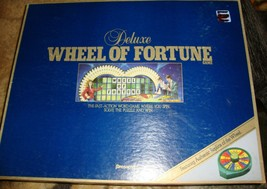 Wheel of Fortune  Vintage 1986 Game by Pressman - Complete - $33.00