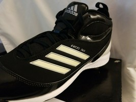 Adidas Excel 365 Metal Low - Black Cleats (Men's Multiple Sizes) - New in Box - $15.95