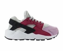 Womens Nike Air Huarache Run Premium Light Bone Noble Red Plum Fog 683818-006 - $54.99