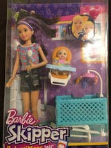 Barbie Babysitters Playset and Skipper Doll and baby - $32.42