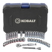 Kobtalt Mechanic Tool Set 40 Pieces Standard Metric Kit With Portable Bo... - $73.26