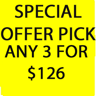 Primary image for MON-TUES DEAL PICK ANY 3 FOR $126 BEST OFFER DISCOUNT DEAL SPECIAL MAGICK