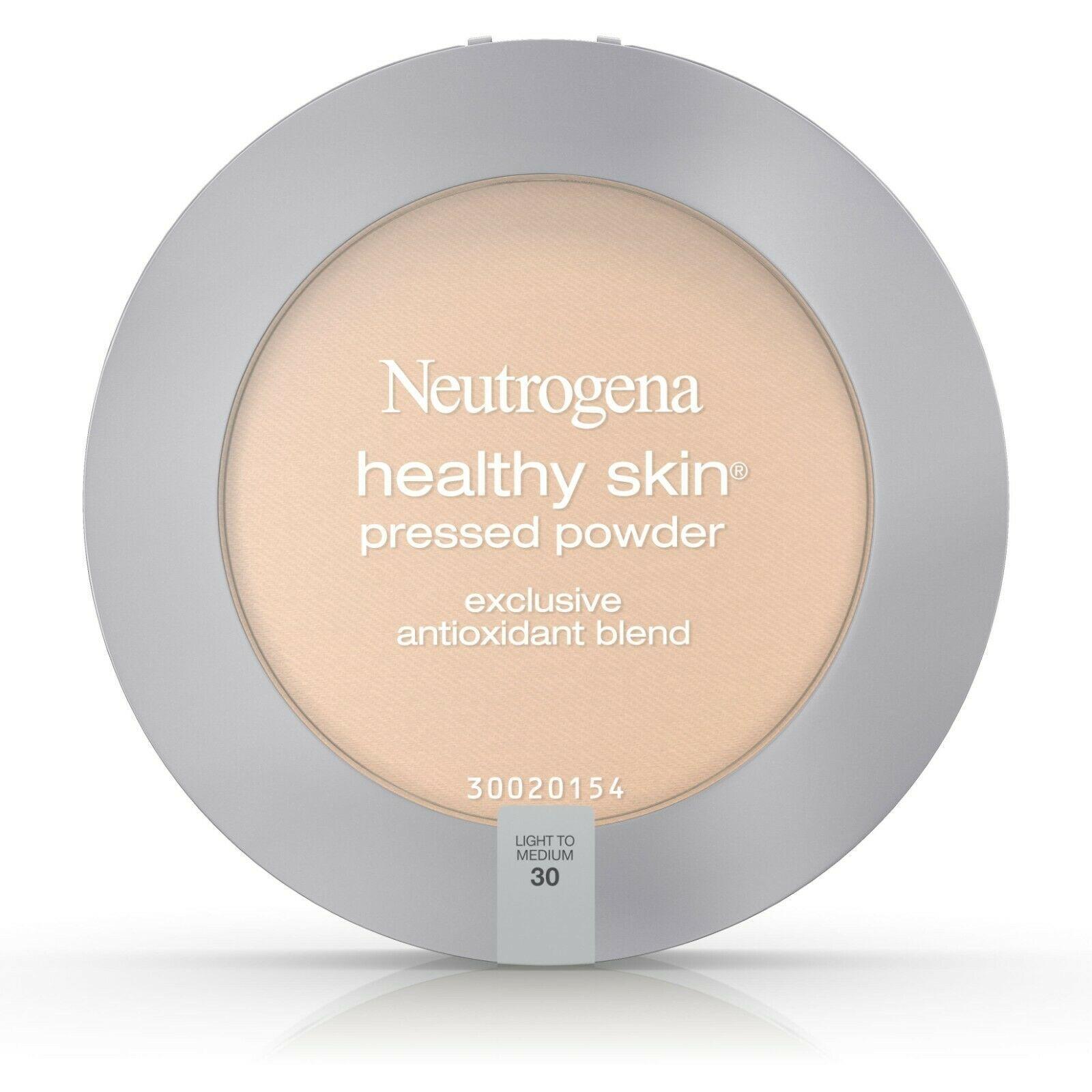 Neutrogena Healthy Skin Pressed Powder, Light to Medium 30, 0.34 oz.. - $25.73