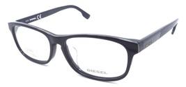 Diesel Rx Eyeglasses Frames DL5197-F 090 56-15-145 Dark Blue Grey Blue A... - $52.23