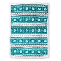 "Ultra Soft Plush Baby Blanket with Sherpa Lining 30""x42"" Playful Nordic ... - $29.99"