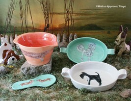 ANTHROPOLOGIE PAINTED PUP KITCHENWARE -NIB- A TAIL OF WHIMSY FOR YOUR TA... - $39.95+