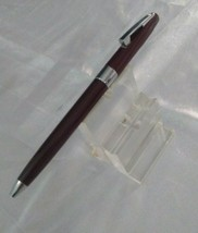 SHEAFFER IMPERIAL BURGUNDY BALL POINT PEN MADE IN USA NOS - $58.41