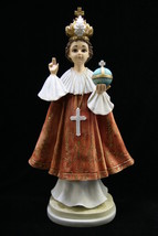 "18"" Infant Jesus of Prague Statue Sculpture Vittoria Collection Made in ... - $99.99"