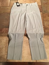Men's Adidas Climalite Gray Pants Sz 34 Inseam 32 Nwts Msrp $70.00 - $29.69