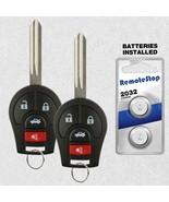 2 For 08 09 10 2011 2012 2013 2014 2015 Nissan Rogue Sentra Uncut Remote... - $16.80