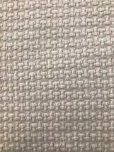 Lauren Ralph Lauren White King Size Cotton Blanket Woven Textured - $68.31