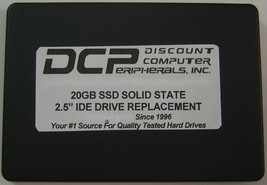 "20GB SSD Replace 2.5"" 9.5MM IDE Drives with this 44 PIN IDE SSD Card in a Case"