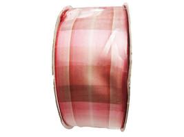 "Hobby Lobby Striped Light Pink Decorative Ribbon, 1.5"" x 3 Yards"