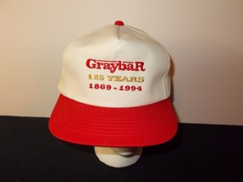 VTG-1990s Graybar Electric Supply 125 years  snapback hat sku7 - $27.83