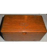 Singer 27 V.S. Solid Wood Puzzle Box w/Attachments Nice - $40.50