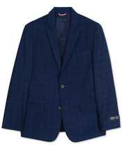 Tommy Hilfiger Big Boys Stretch Plaid Suit Jacket size 10 - $33.66