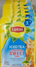 Lipton Iced Tea Southern  Sweet Sweetened Tea Mix 7 Pack 4.7 oz Ea A3 - $27.67