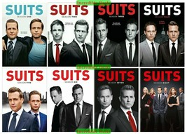 Suits Complete Series Season 1 2 3 4 5 6 7 & 8 DVD Set New Sealed Collection 1-8 - $76.00
