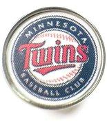 Snap Jewelry Fashion MLB Logo Minnesota Twins 18MM - 20MM Jewlery Snap C... - $5.83