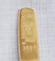 Collector Souvenir Spoon Noel 1987 Christmas Doorway Wreath - $2.99