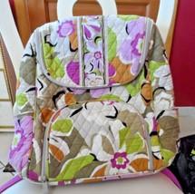 Vera Bradley Double Zip Backpack in Portobello Road pattern EUC - ₨2,791.54 INR