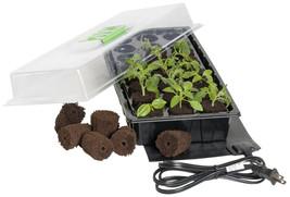 Jump Start 24-Cell Grow Plug Mini Germination Station w/Heat Mat-free sh... - $36.58