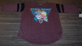 WOMEN'S TEEN STAR WARS NEW HOPE LUKE SKYWALKER PRINCESS LEIA T-shirt XS NEW - $19.80