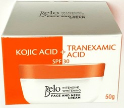 BELO Face & Neck Cream Intensive Whitening 50g SPF 30 - $15.51