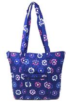 Vera Bradley Villager in Ellie Flowers with Purple Interior - NWT - $74.... - $49.95