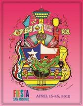 San Antonio Fiesta 2015 Poster 24 X 36 Inches Looks Beautiful - $19.94