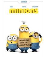 Minions DVD - $10.88