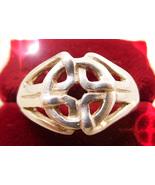 HAUNTED RING ROYAL CIRCLES OF POWER ILLUMINATED WORLD MASTER MAGICK 7 SC... - $333.00