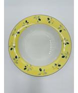 "Royal Doulton Blueberry Rimmed Soup Bowls 8.5""  Set of 6 EUC - $49.45"
