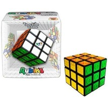 Rubik's Tactile Cube 3x3 Brain Teaser Puzzle Strategy Winning Moves WNM5037 - $15.99