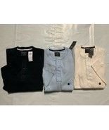 NEW Abercrombie & Fitch by Hollister MEN WAFFLE Henley - $27.90