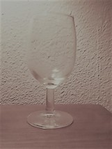 Small Clear Glass Wine Glass - $4.94