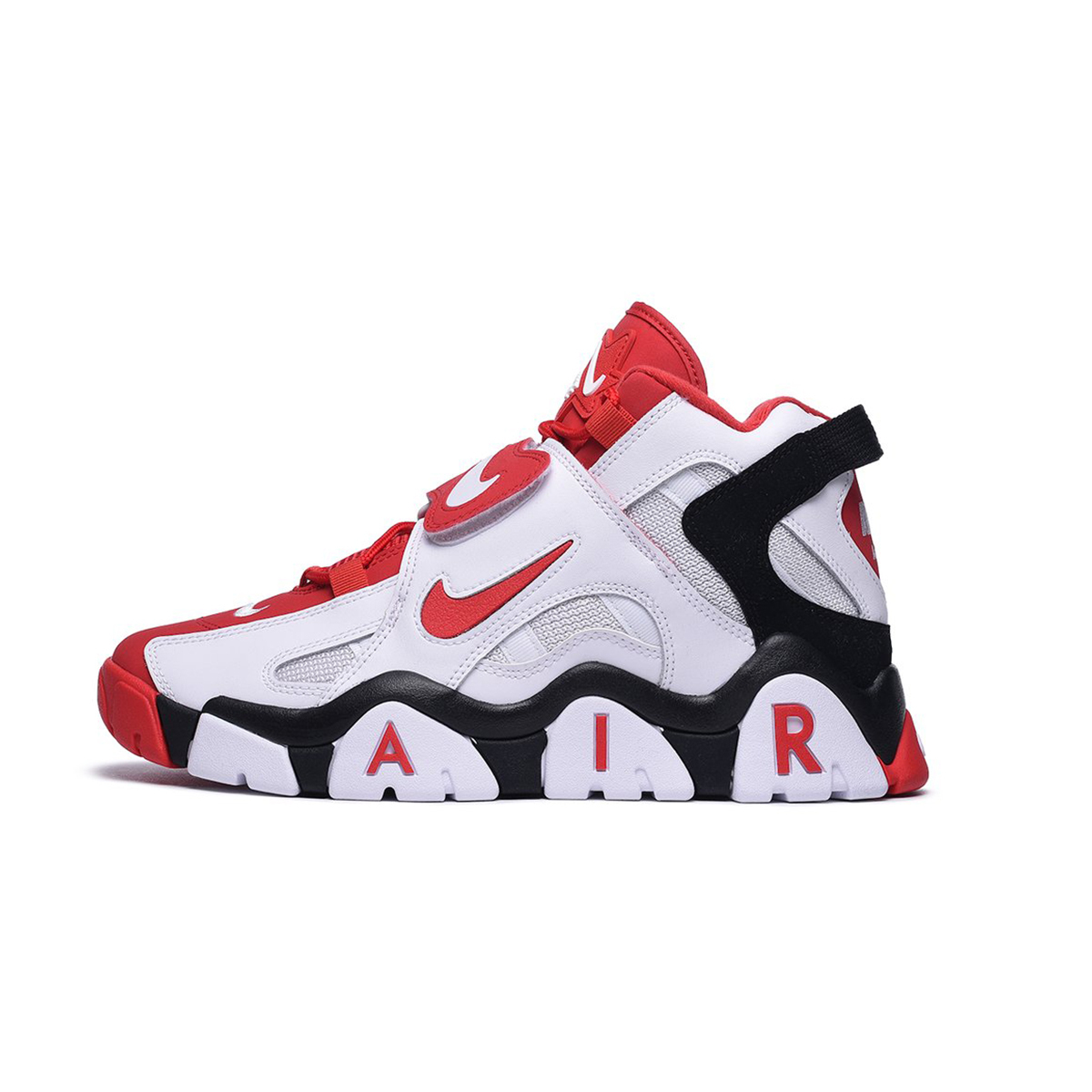 Primary image for Nike Air Barrage Mid (White/ University Red/ Black) Men 8-13