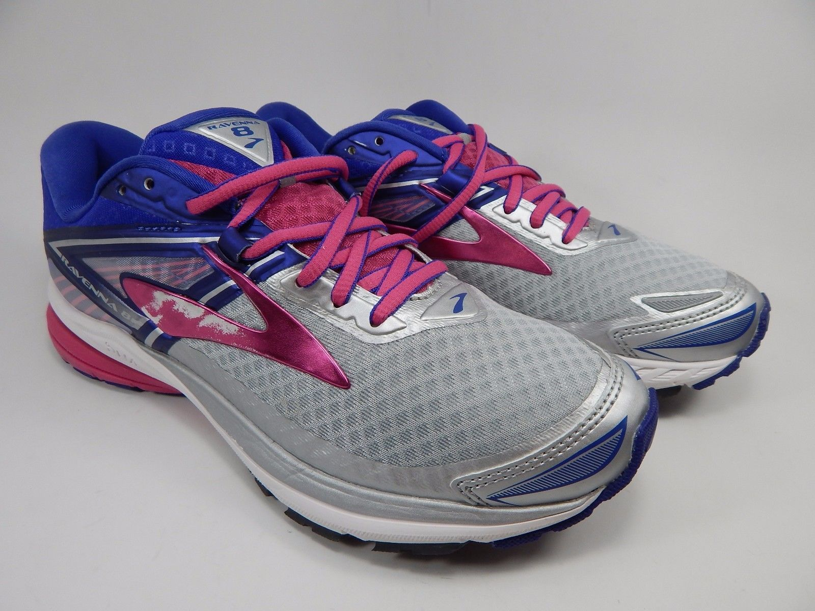 Brooks Ravenna 8 Women's Running Shoes Size US 7 M (B) EU 38 Silver 1202381B089