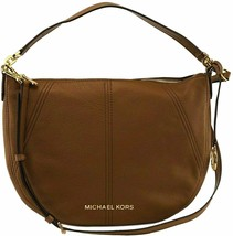 Michael Kors Bedford Medium Convertible Shoulder Bag in Luggage - $153.45