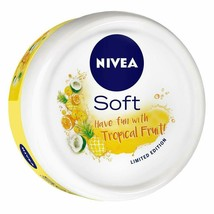 NIVEA Soft Light Moisturizer Cream Tropical Fruit With Vitamin E & Jojob... - $5.40+