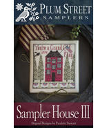 Sampler House III cross stitch chart Plum Street Samplers  - $10.80