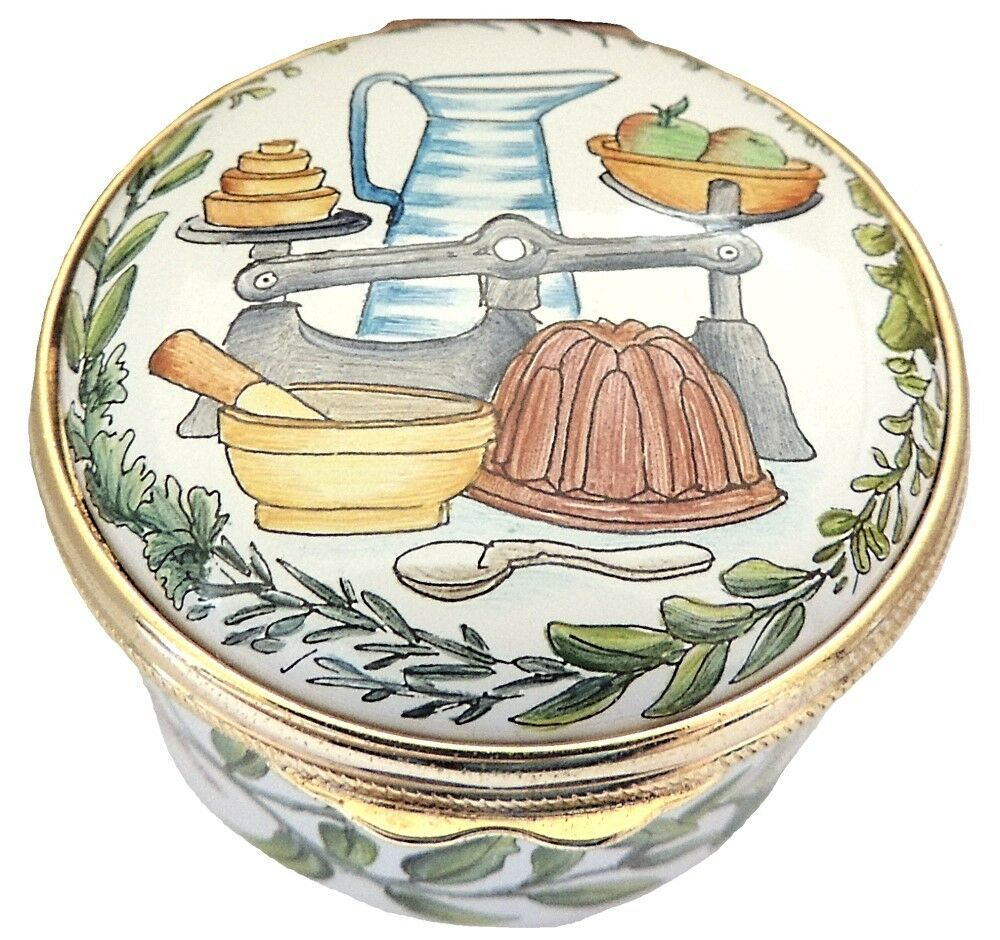Marshall Enamels Cooking (Bowls, Spoons, Scale, Pitcher) - $30.00
