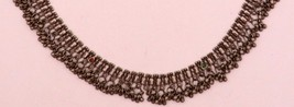 SILVER VINTAGE FABULOUS ANKLET BEAUTIFUL JEWELRY ORIGINAL WORN PIECE JEW... - $188.09