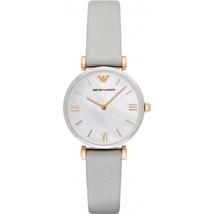 Emporio Armani AR1965 Grey Leather Ladies Watch - $200.96