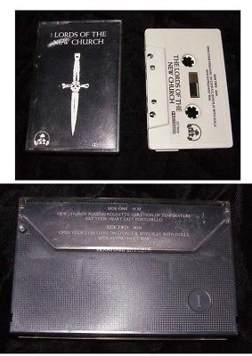 Lords Of The New Church Audio Cassette 1982 IRS Stiv Bators Dead Boys