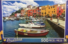 Puzzlebug 500 piece jigsaw puzzle Colorful Italy New in Box - $7.69