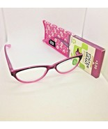 Foster Grant Green View Mavis (Pink) Reading Glasses W/Case +3.00 - $11.88