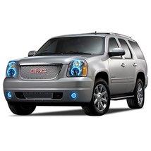 FLASHTECH for GMC Yukon 07-13 Blue Single Color LED Halo Ring Headlight and Fog  - $282.24